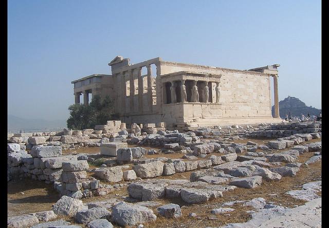 Templo de las Cariátides de Atenas