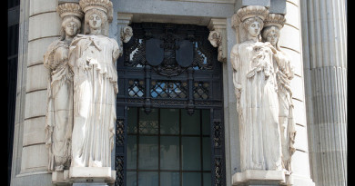 Las Cariátides de Madrid