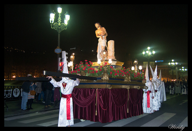 Semana Santa Bilbao pasos