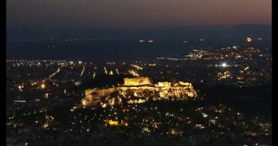 Llegada a Atenas