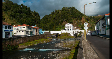 Paseo por Povoação en Islas Azores