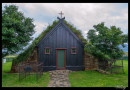Iglesia Vidimyrarkirkja en Varmahlid