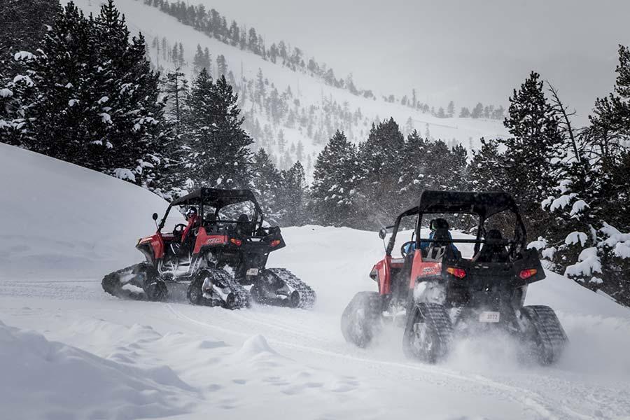Otras 10 actividades de nieve en Andorra - Buggies
