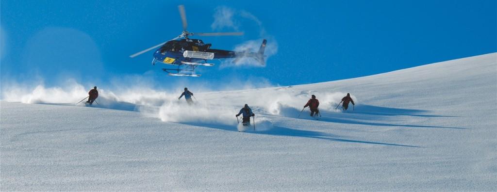 10 actividades de nieve en Andorra  para atrevidos- Heliesquí