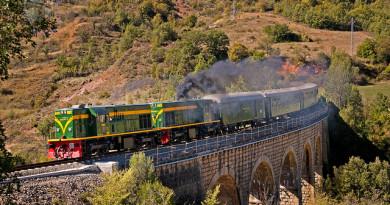 10 viajes trenes históricos España