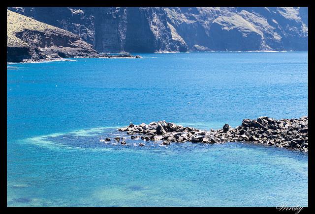 El mar en Punta de Teno
