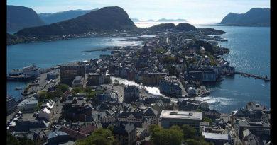 Fiordos noruegos Trondheim Vinjef Valsoy Halsa Molde Alesund