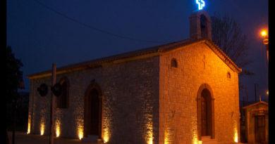 Iglesia en Olimpia