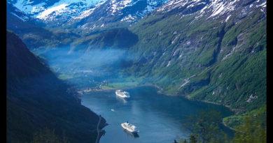 Fiordos noruegos Storfjord Geiranger Hellesylt Briksdal Loen