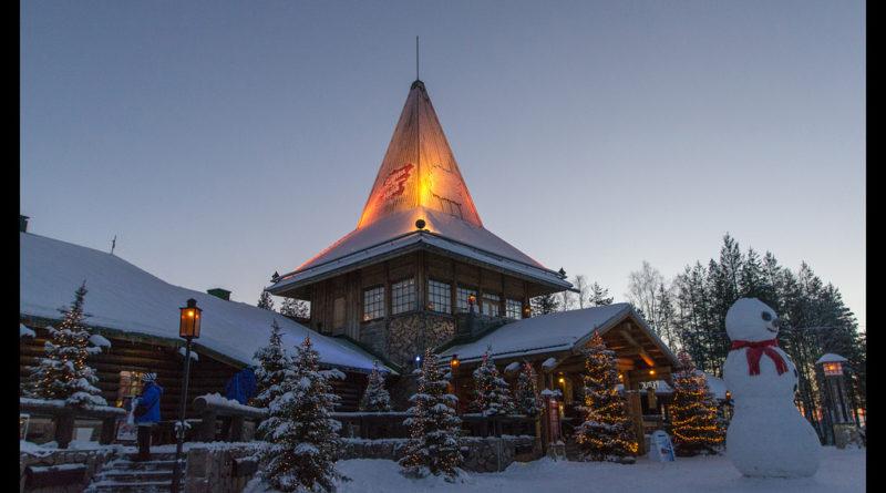 El día que conocí al auténtico Papá Noel, ¡el que vive en Laponia!
