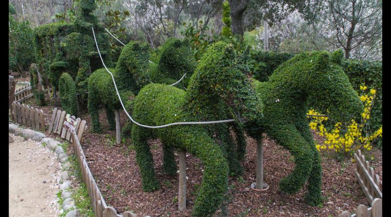 El Bosque Encantado, un jardín secreto y mágico en Madrid