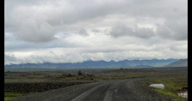 Ruta Kaldidalur carretera 550 de Islandia
