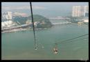 Teleférico de vértigo en la isla de Lantau