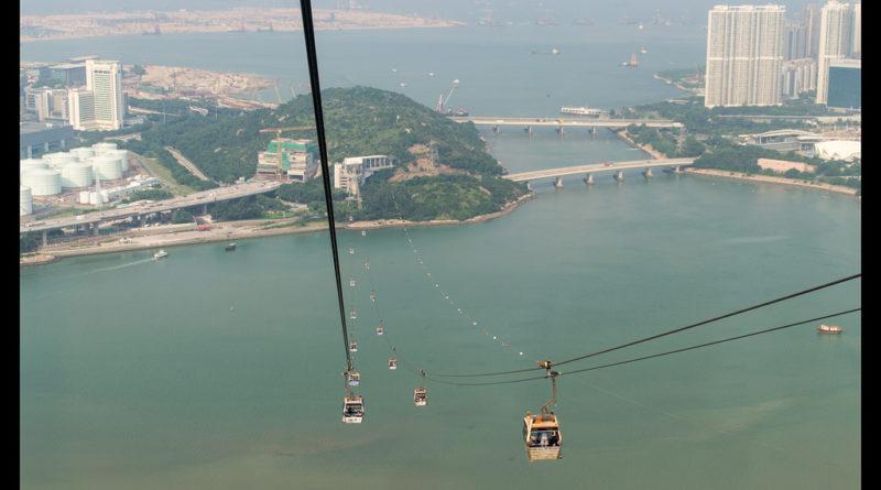 Teleférico isla de Lantau