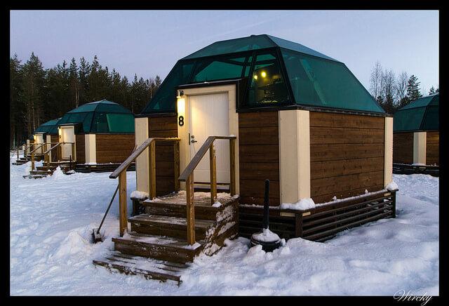Dormir en un iglú de cristal en Laponia. Mi experiencia